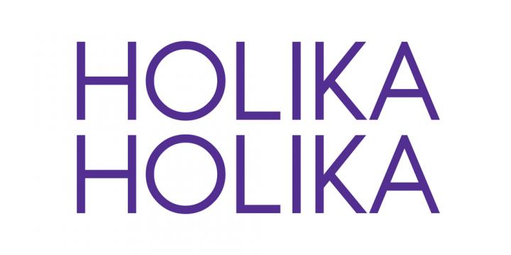 브랜드 명 홀리카홀리카의 로고 이미지
