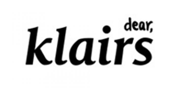 브랜드 명 클레어스(Dear,klairs)의 로고 이미지